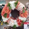 Wreath Merchandising Goes Floral