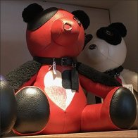 Coach Red Teddy Bear Personified Square1