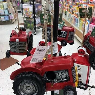 Ballstop-Equipped Freestanding Tractor Tree