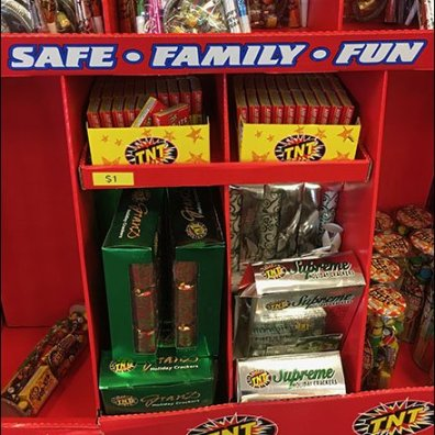 Safe Family Fun Fireworks Display