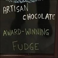 Free Artisan Chocolates Chalkboard Easel FEATURE