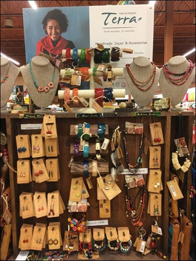 Handmade Display for Handmade Fashion Jewelry