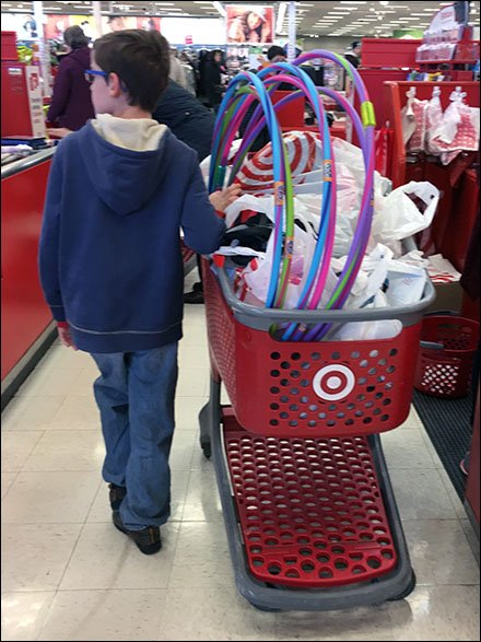 Hula Hoop Sales Success Measured By Shopping Cart
