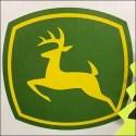 John Deere Licensed Tractor Display Logo