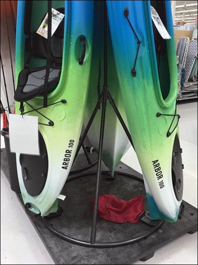 Kayak Stack Arms TeePee Display