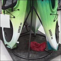 Kayak Stack Arms TeePee Display