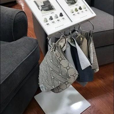 Recliner Catalog Spread Freestanding Floorstand