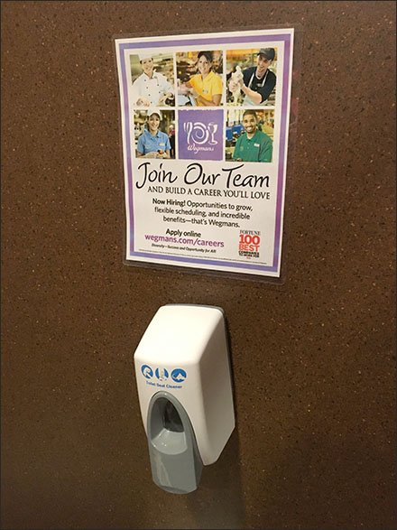 Restroom Stall Hiring And Hand Sanitizer