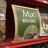 Curved Shelf Edge Signs For Emphasis