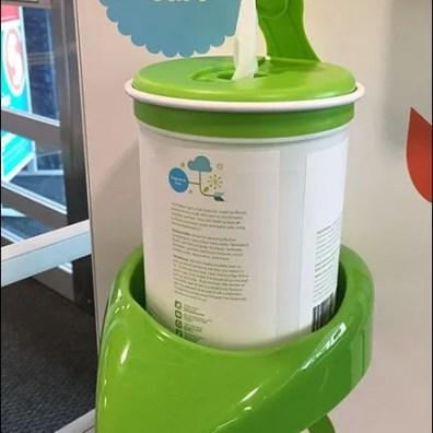 Babyganics Freestanding Sanitizer Display