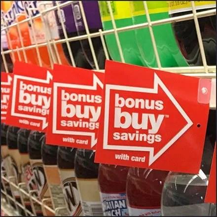 Bonus Buy Shelf Edge Flags En Masse