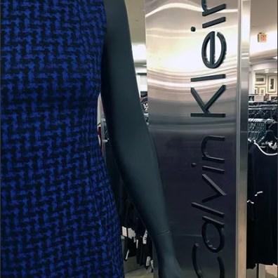 Calvin Klein Stainless Steel Runway Branding