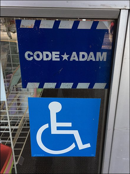 Code Adam Missing Child Window Decal