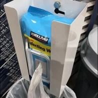 Costco Kirkland Custom Sanitizer Wipe Station