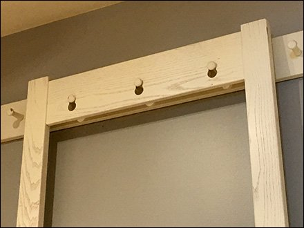 Do-It-Yourself Slatwall Bar Merchandising Hanger