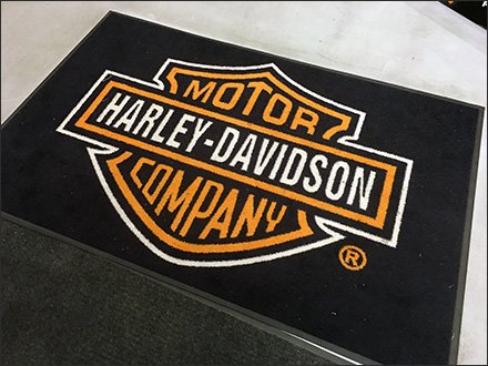 Harley-Davidson Branded Welcome Mat