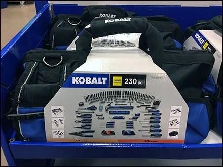 Kobalt Tool Kit Offers Tool Bag Adjacency