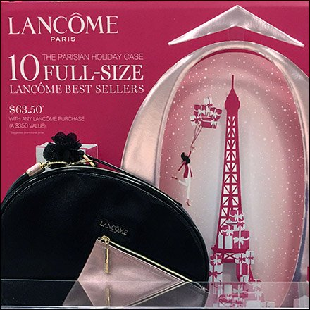 Lancome Die-Cut Eiffel Tower Effigy Feature