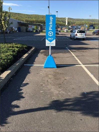 Lowes Online Pickup 15 Minute Parking 3