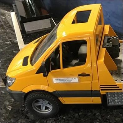 Miniature Roadside Service Model at Mercedes Benz
