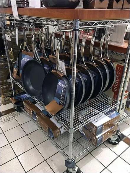 Macys Cookware Cart Hangrod Outfitting
