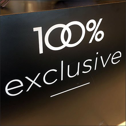 100% Exclusive Nordstrom Store Entry Preview