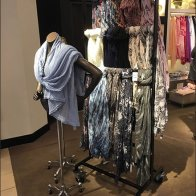 Scarf Curtain Wall On Casters At Nordstrom