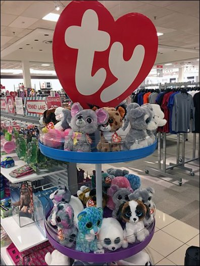 Ty Plush Toy Tower Variation
