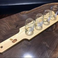 Viva Farms Beer Sample Serving Tray