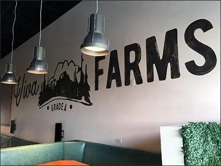 Viva Farms Grade A Wall Branding Scene