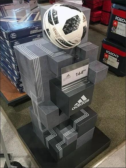 Adidas Soccer Ball Ziggurat Tower