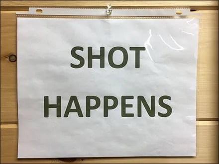 Shot Happens Gun Shop Play On Words