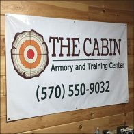 Cabin Armory and Training Center Banner