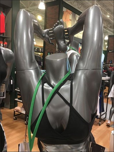 Lifestyle Stretch Mannequin Display at Dick's