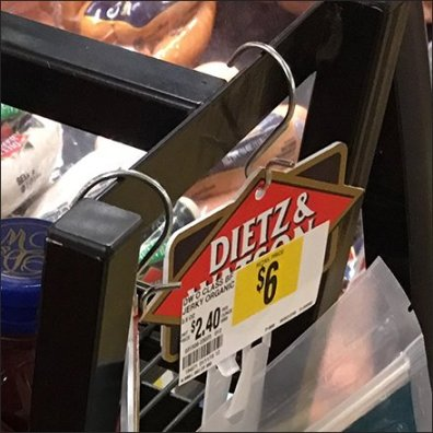 Dietz & Watson Organic Beef Jerky Merchandiser