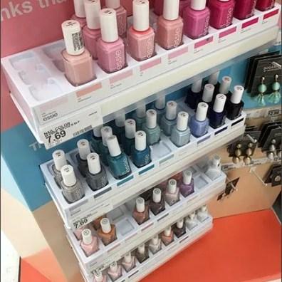 Essie Nail Polish Small Shelf Display