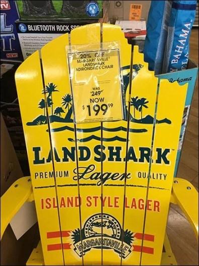 Land Shark Adirondack Chair Advertising 1