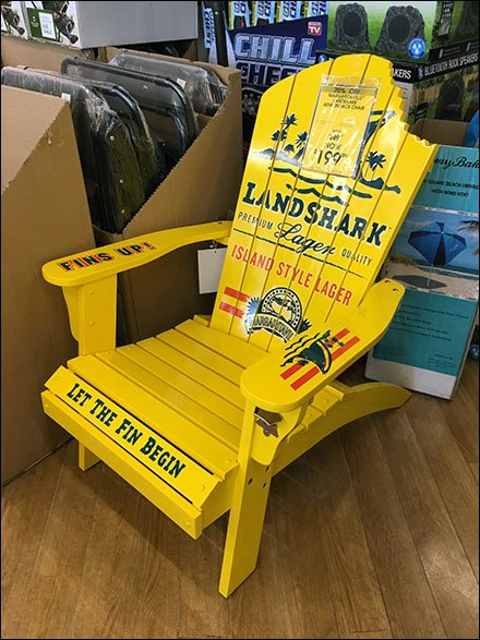 Land Shark Takes A Bite Out of Chair
