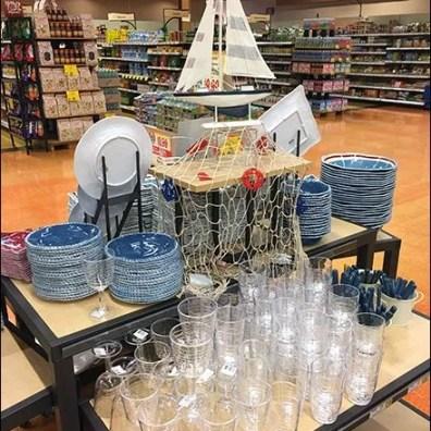 Nautical Tableware Display Stern View