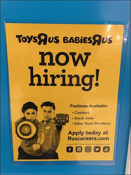 Now Hiring For Multiple Positions Entry Sign