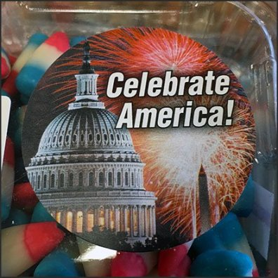 Patriotic Candy Corn Bulk Pack Discount