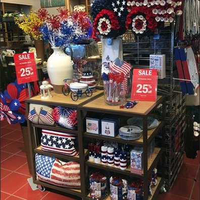 Politically Correct Patriotic Decor Sale Priced