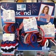 Scunci Scrunchies and Patriotic Hair Accessories