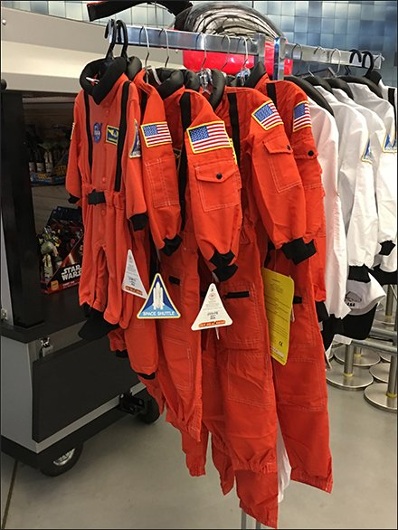 Visually Sizing Space Shuttle Space Suits