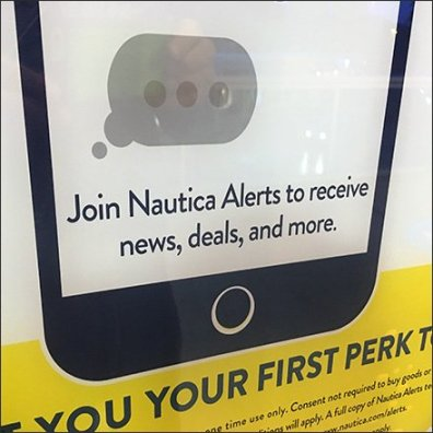 Text For Alerts Nautica Window Invitation