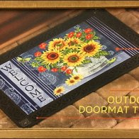 Changeable Welcome Mat Tray Insert System