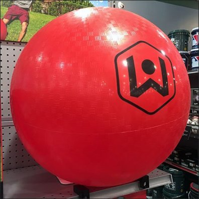 Wicked Big Kickball On-Shelf Magnetic Ballstops
