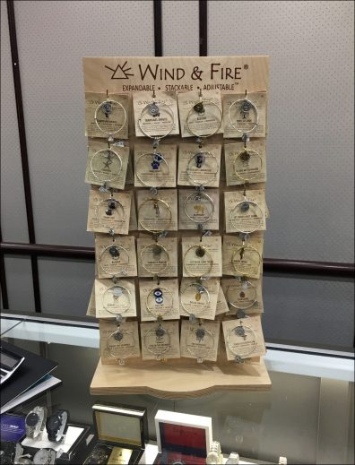 Wind & Fire Counter-Top Upright Display