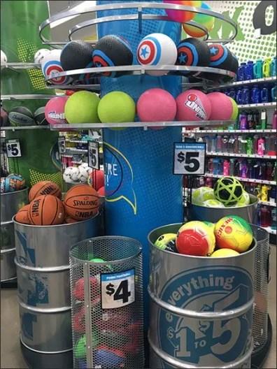 Bulk Bin Barrel Ball Display Overview