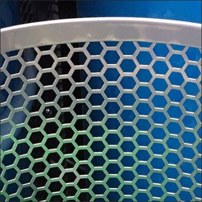 Perforated Bulk Bin Barrel Ball Display